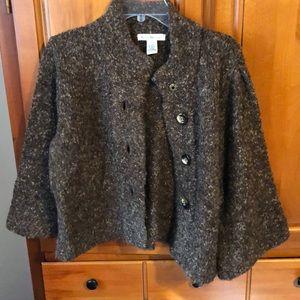Boucle cape Sweater